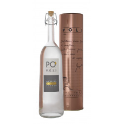 Grappa Pò di Poli Morbida 40° Distilleria Jacopo Poli con tubo di rame