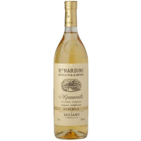 Grappa Nardini Acquavite Riserva 50 %  Bortolo Nardini 1 L.
