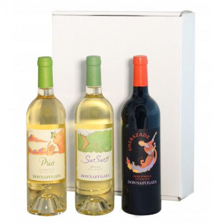 Gift Box - Sicily and the wines of Donnafugata